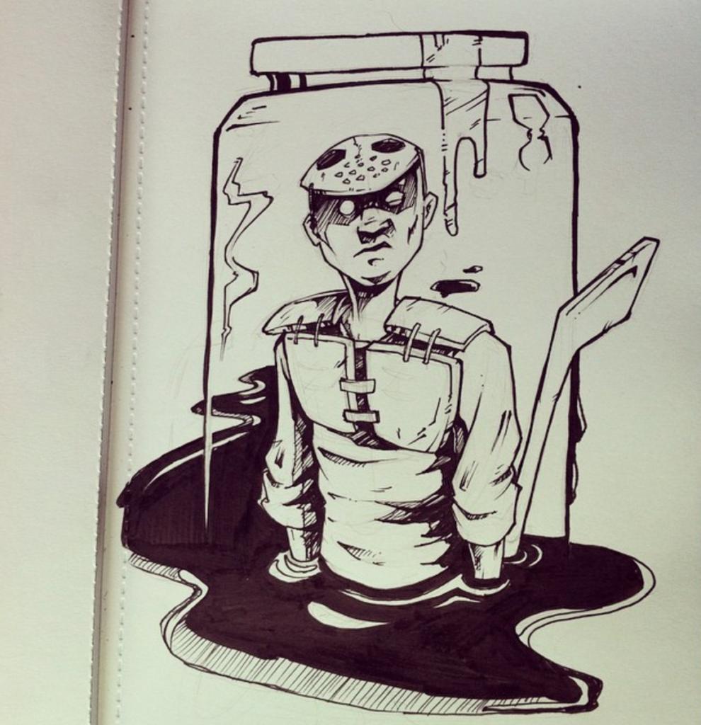 joey_green_on_instagram___inktober_day2__pen__ink__mask__hockey__jeba__joeygreen__illustration__character__sketch